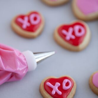 Valentine's Day Sugar Cookie Mini Bites