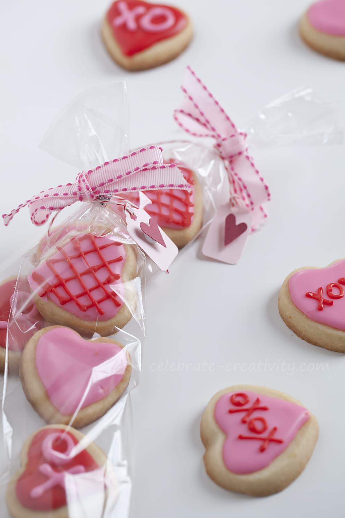 Valentine S Day Sugar Cookie Mini Bites Ella Claire