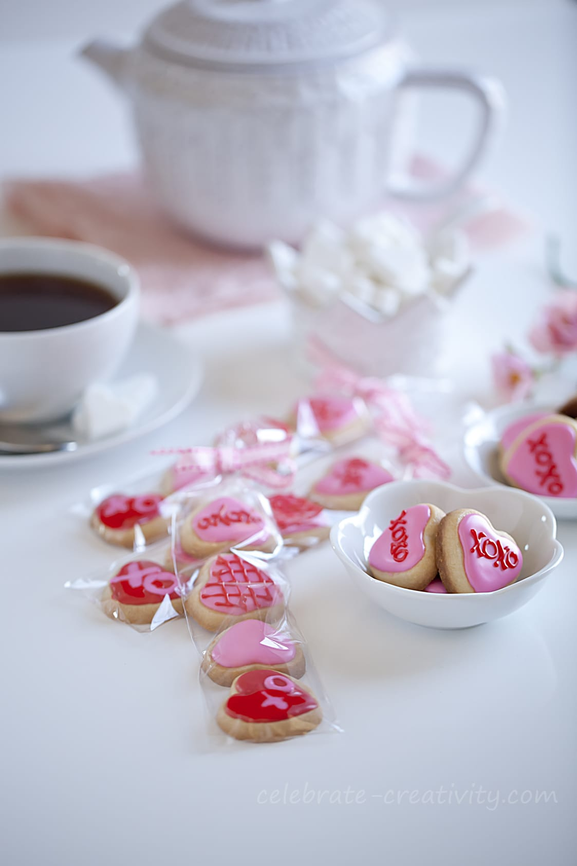 Valentines Day Sugar Cookie Mini Bites Ella Claire