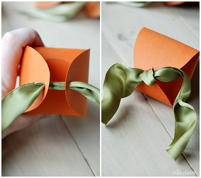 Free Printable Easter Carrot Favor Boxes