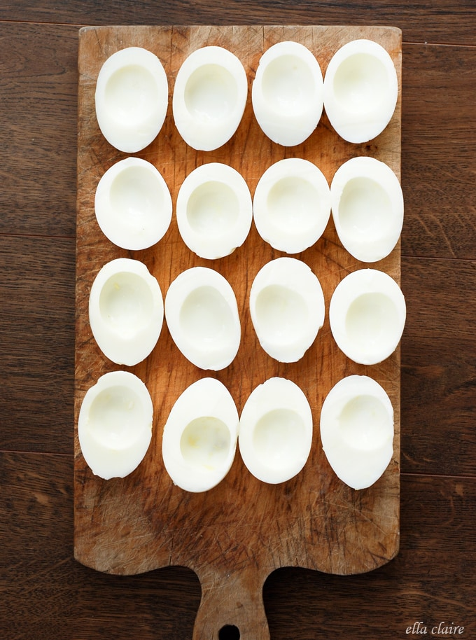 Avocado Deviled Eggs The Whites