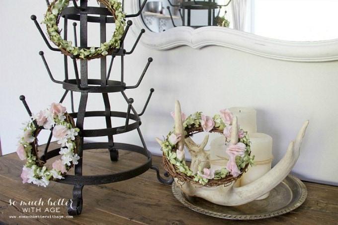 spring floral crowns