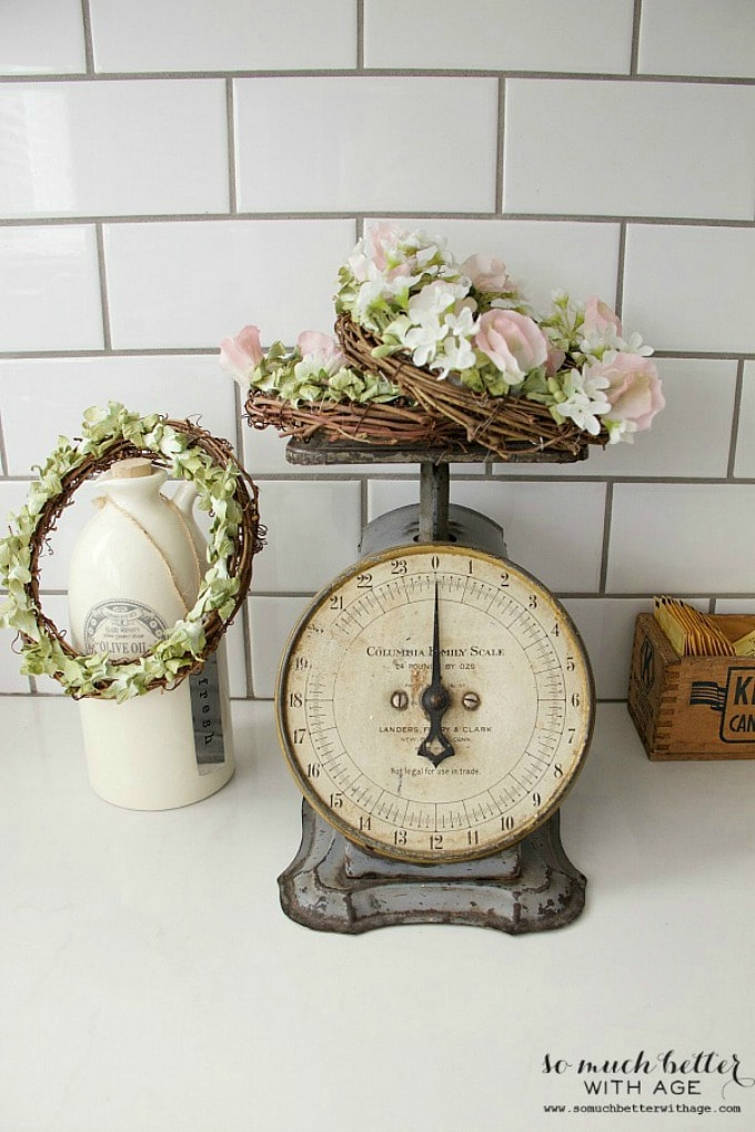 Vintage scale & floral crowns