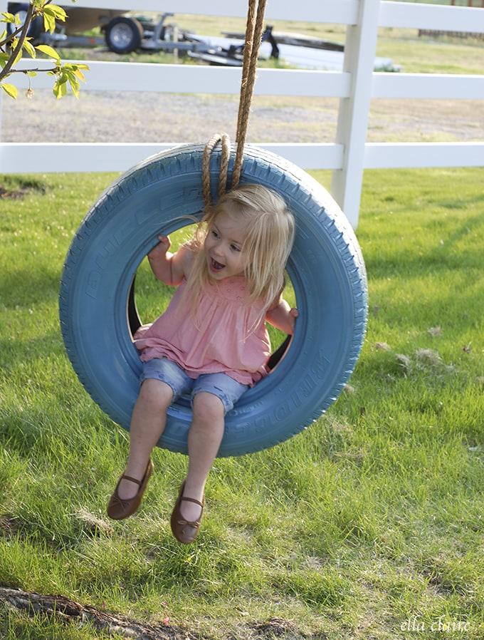 DIY Tire Swing Tutorial