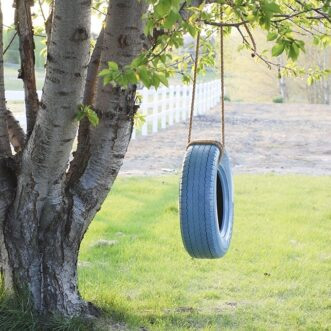 Easy DIY Tire Swing