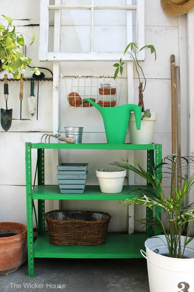 Creating a potting station