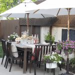 Old Patio Umbrella Makeover