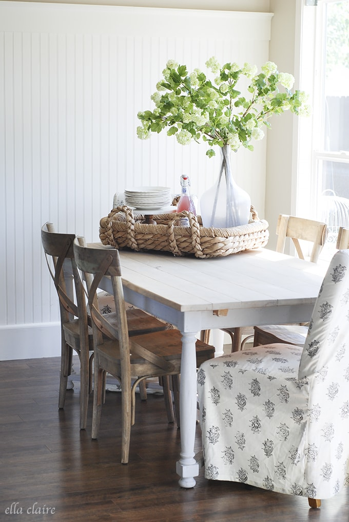 tablescape | Ella Claire Summer Home Tour
