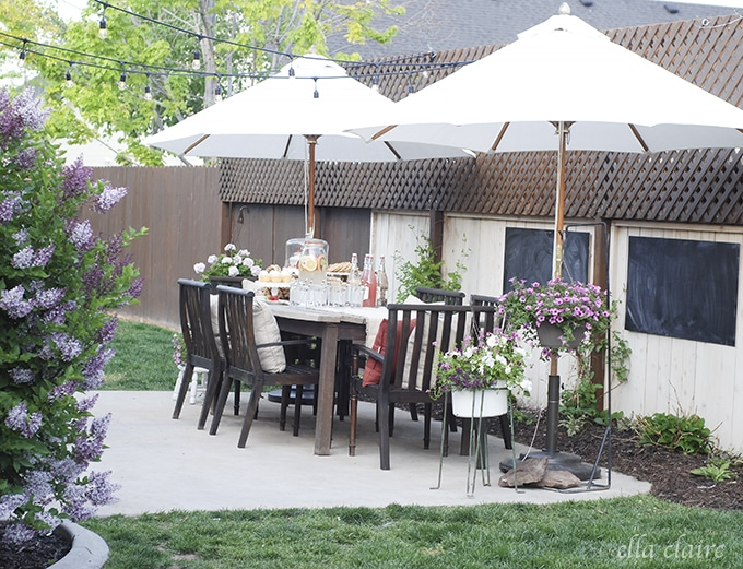 DIY Patio Makeover