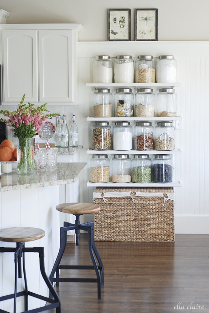 Love this idea! | Ella Claire Summer Home Tour