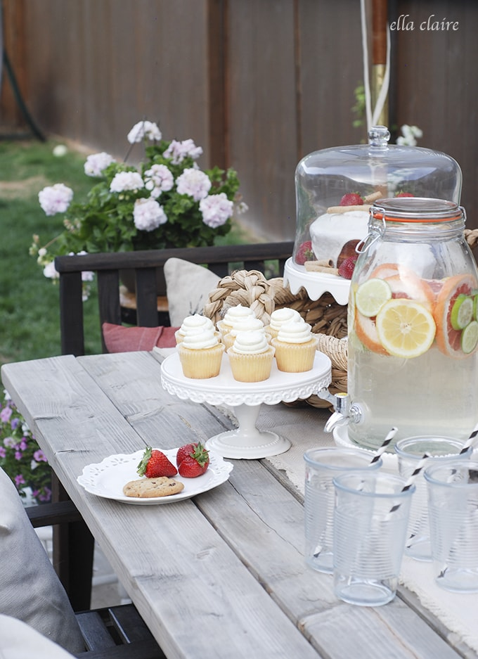 Cute Summer Tablescape