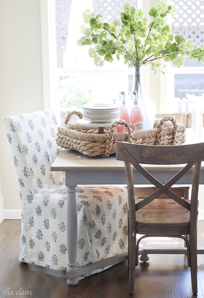 Tablescape | Ella Claire Spring Home Tour
