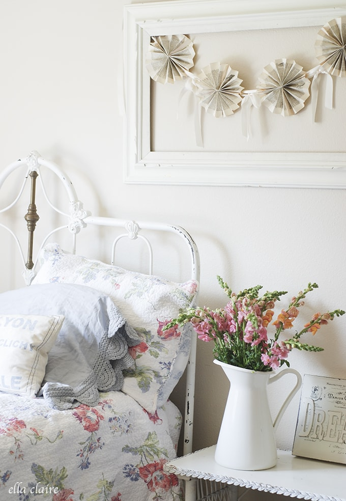 Adorable little girl's room | Ella Claire Summer Home Tour
