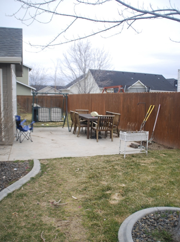 before patio 2