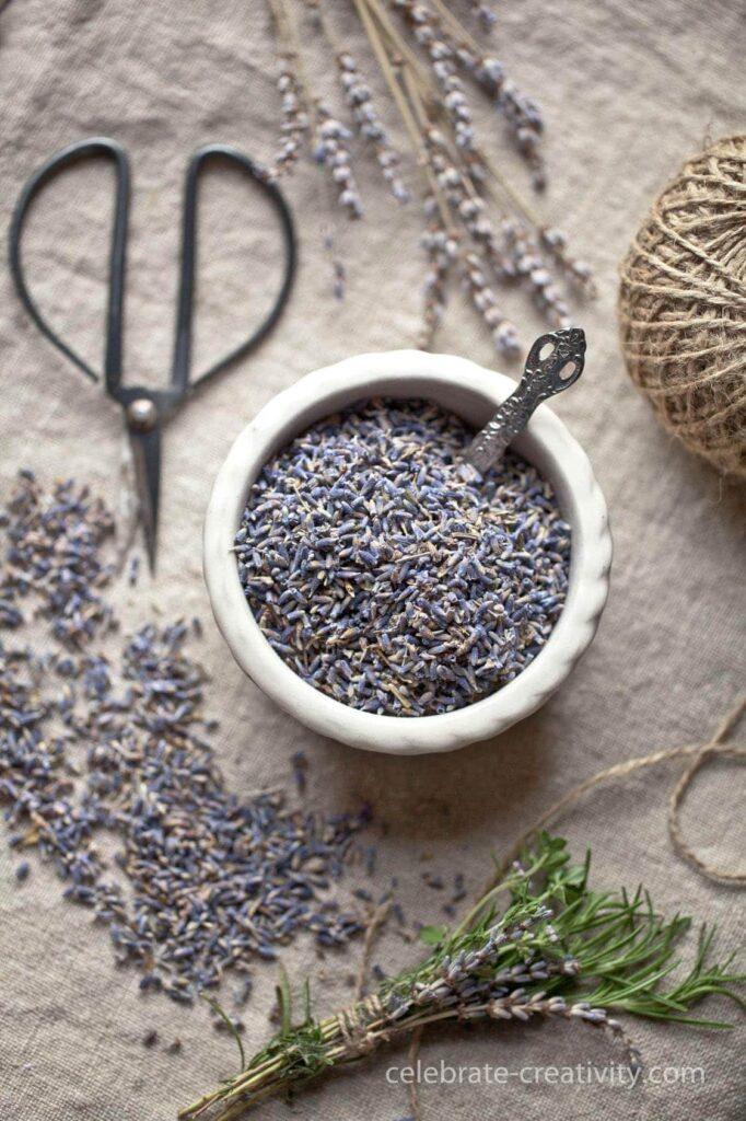 lavender sachet supplies