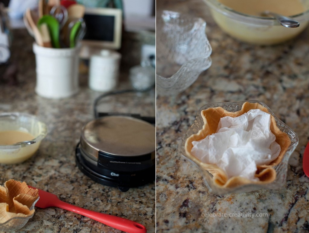 ec waffle bowl maker