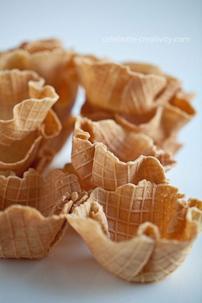 ec waffle cone bowls