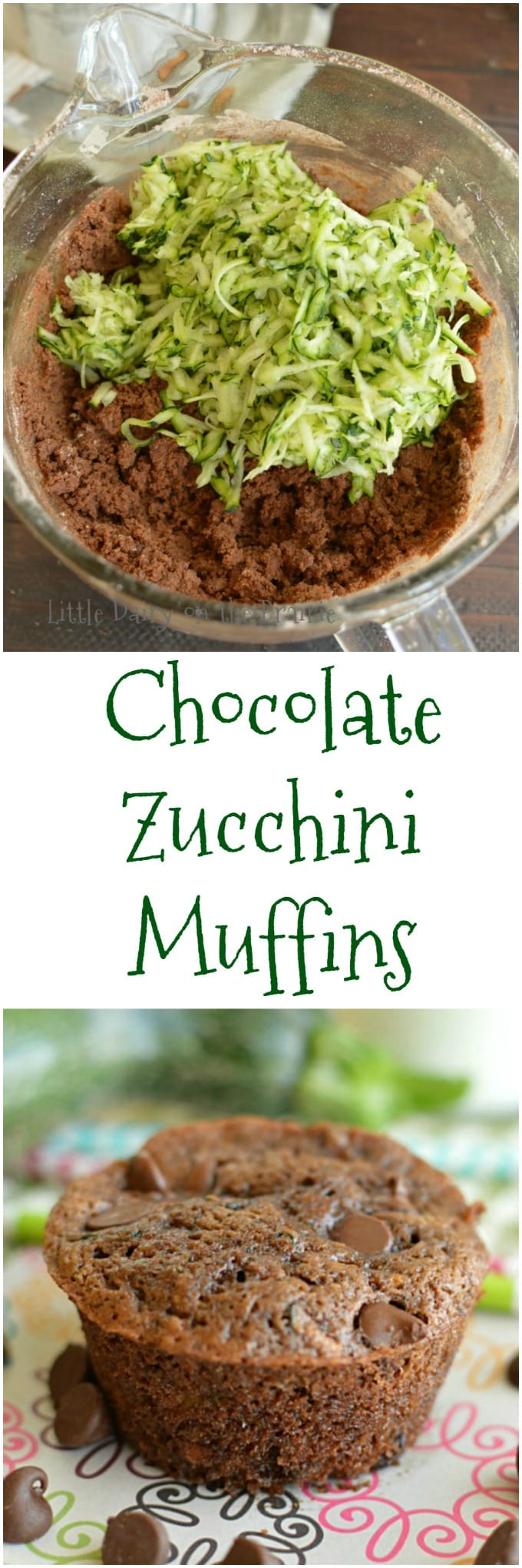 Chocolate Zucchini Muffins are perfect for those mornings you know you are going to need chocolate, for after school snacks, or for dessert!