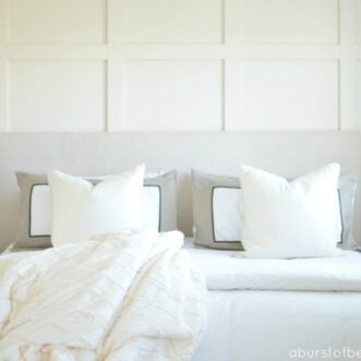 DIY Paneled Wall | DIY Wainscoting