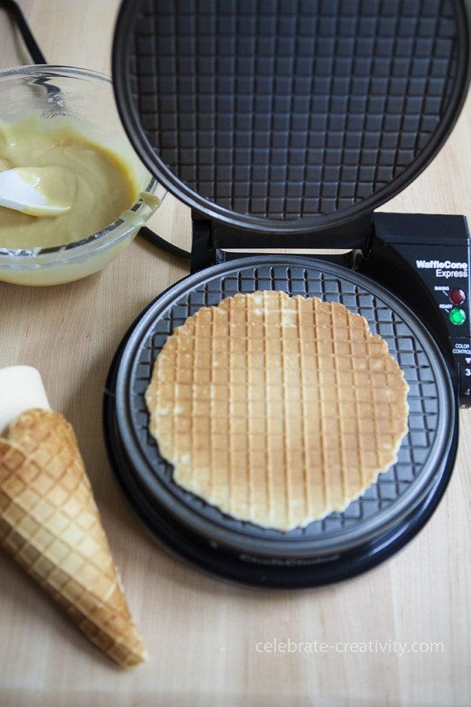 ec waffle cone maker