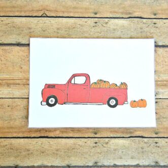 Pickup and Pumpkins | Free Printable