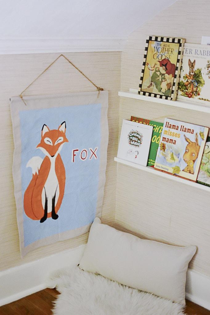 DIY Pottery Barn Inspired Animal Print