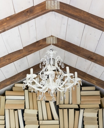 She Shed Woodwork | DIY Gable Bookshelf