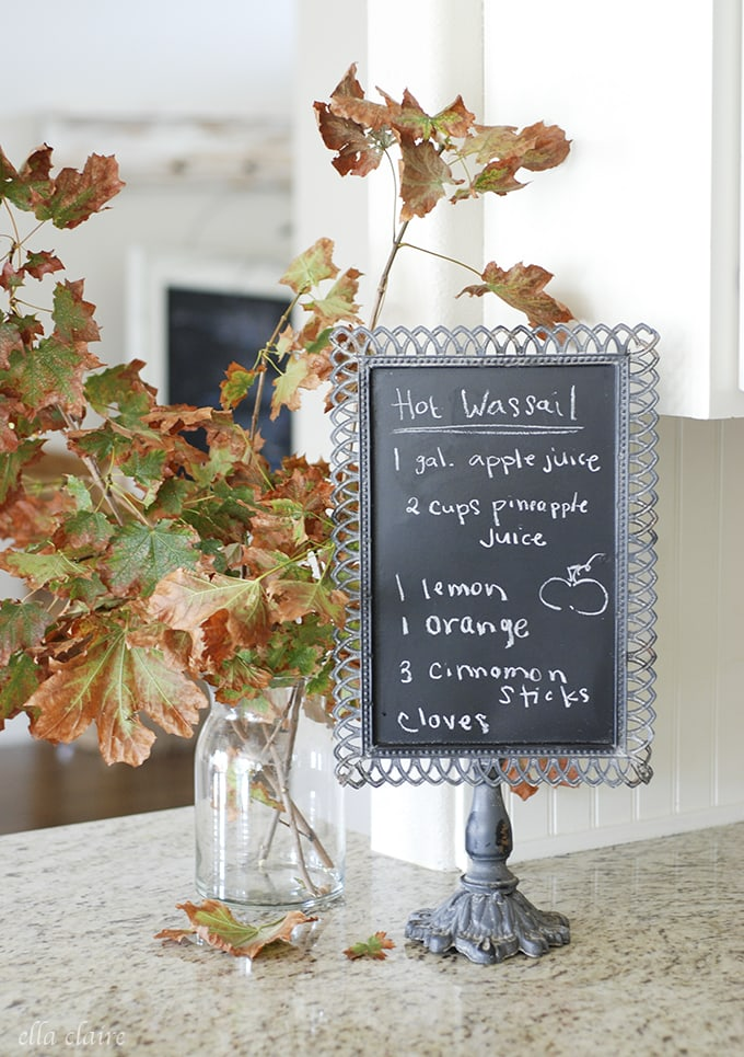Ella Claire Fall 2015 Home Tour | Kitchen