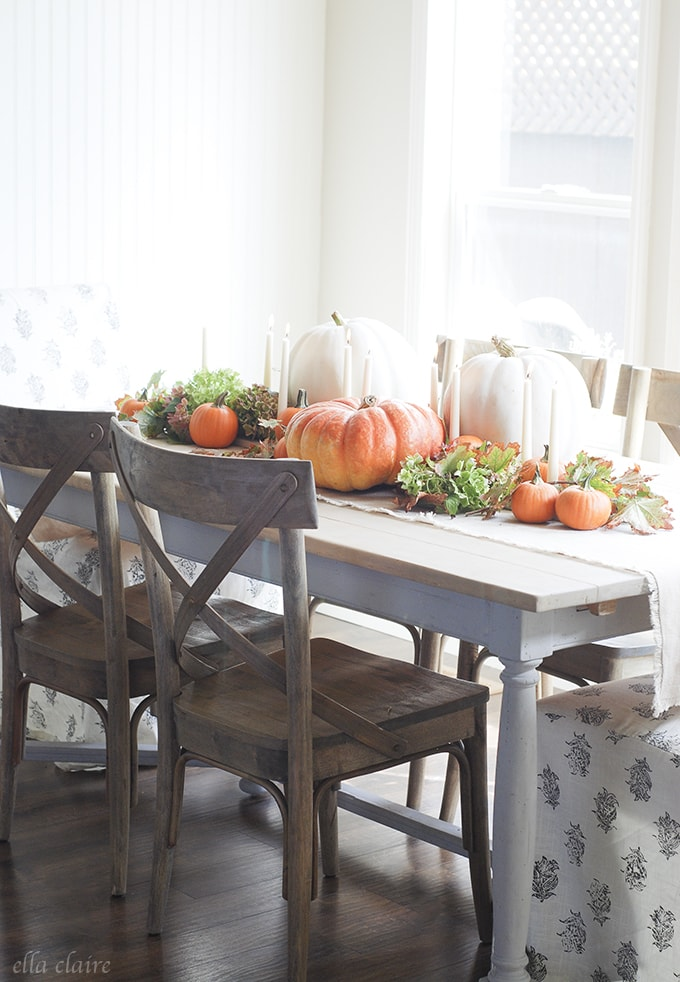 Ella Claire Fall 2015 Home Tour | Dining Room