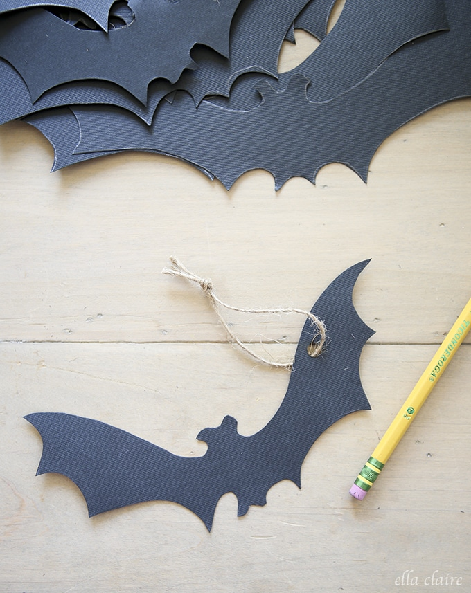 Haunted Halloween Tree  Free Printable Bats  Ella Claire