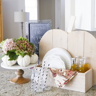 DIH Wooden Pumpkin