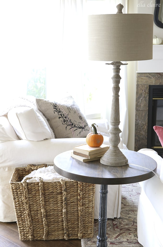 Ella Claire Fall 2015 Home Tour | Living Room
