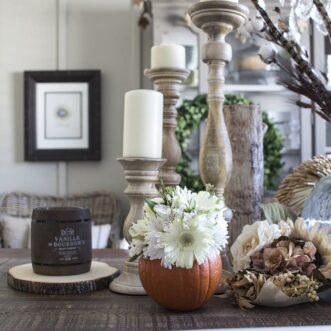 Pumpkin Flower Vase | Tutorial