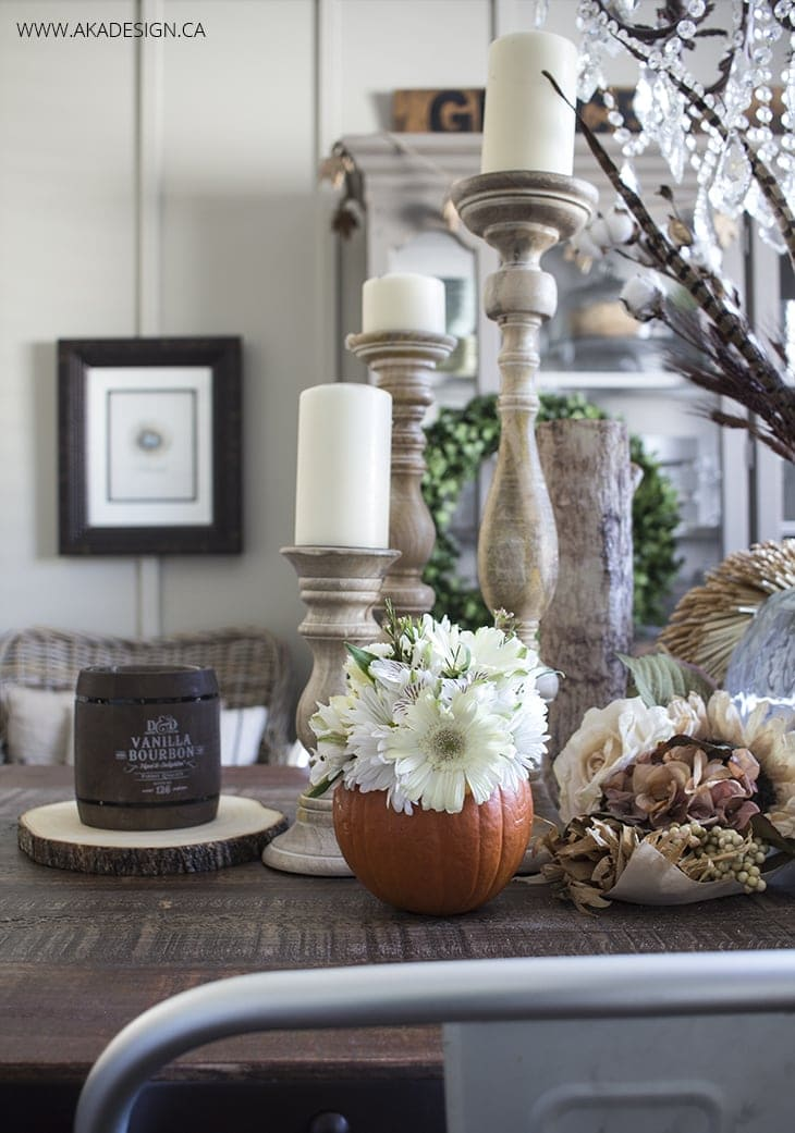 Easy DIY Fall Pumpkin Vase