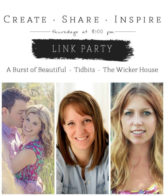 Create Share Inspire Link Party_Pinterest_Resized
