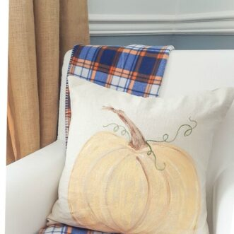 DIY Painted Pumpkin Pillow | Tutorial