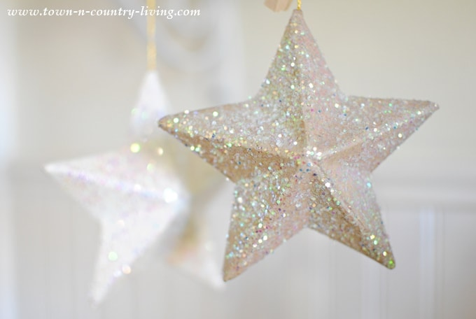 Newest Side By Side >> DIY Paper Mache Stars - Ella Claire