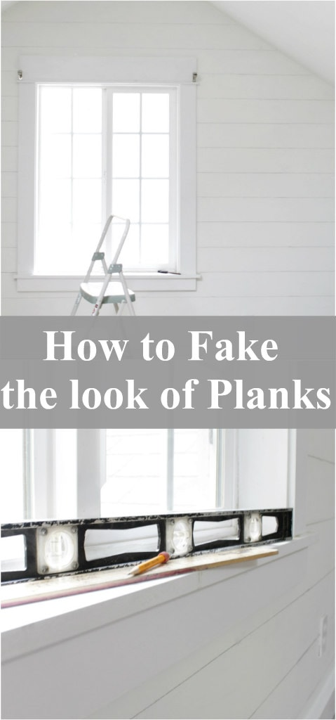 How to Fake the look of Planks