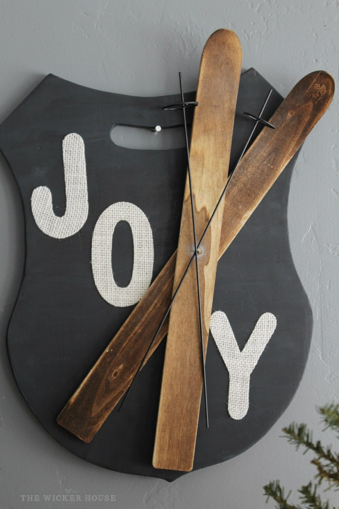 Joy Sign by The Wicker House