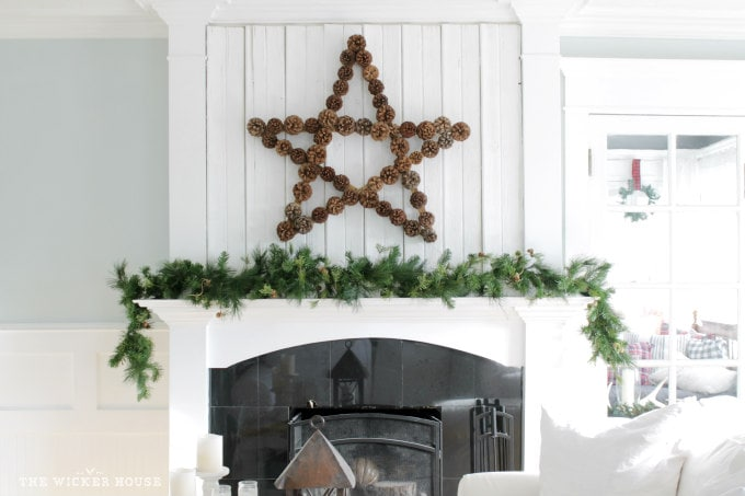Large Pinecone Star
