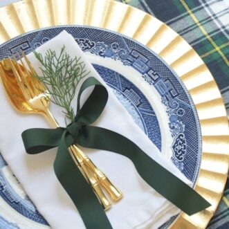 DIY Plaid Placemats | Tutorial
