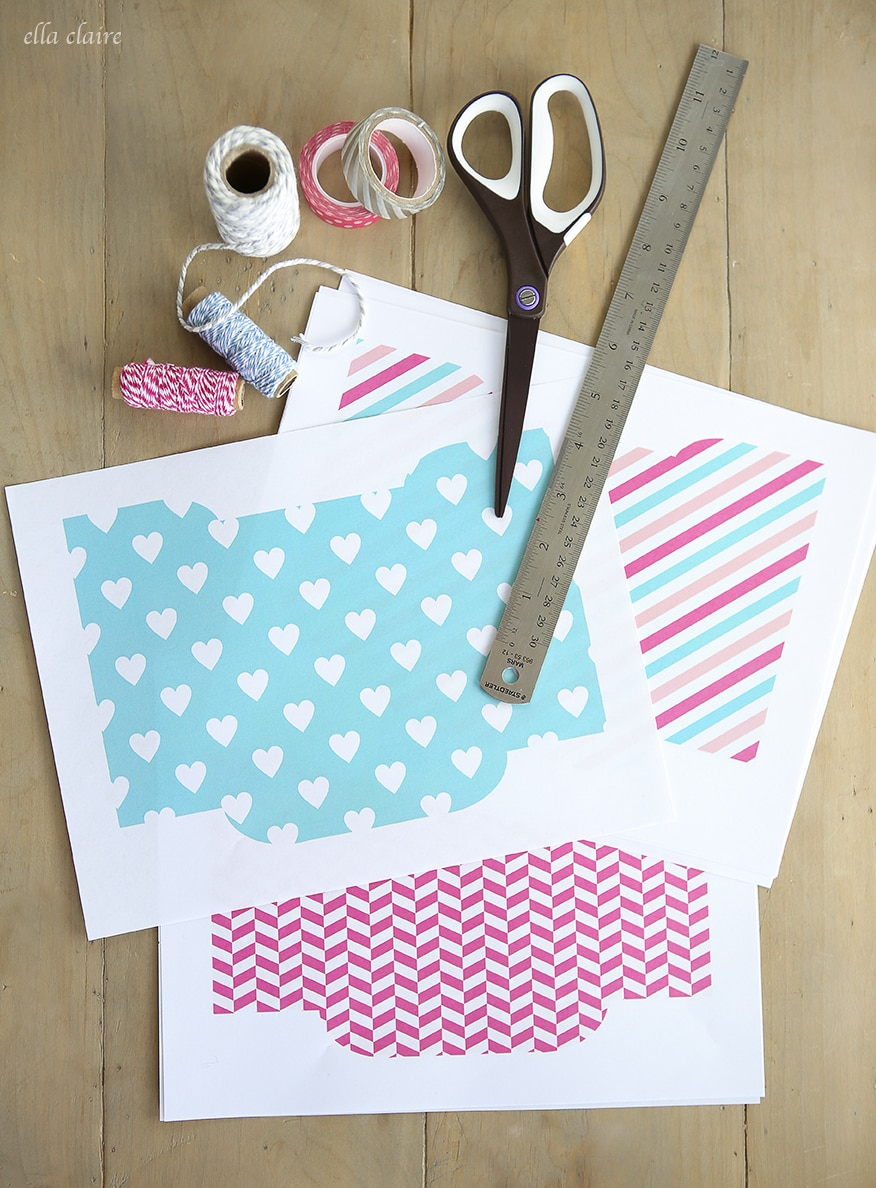 Free Printable Valentine Envelopes and Tags