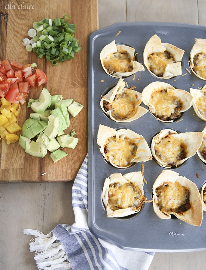 These delicious burrito bites are easy to throw together and a major crowd pleaser!