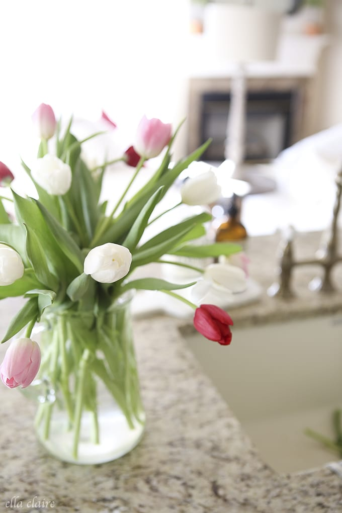 Decorating with fresh Flowers