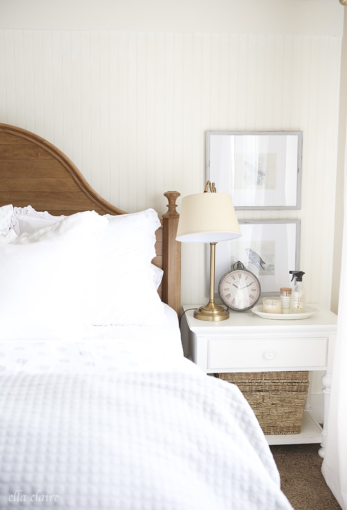 Master Bedroom Makeover nightstands