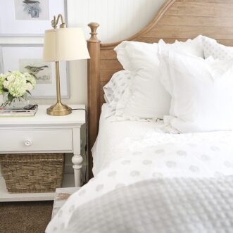 Master Bedroom Reveal | A New Bed