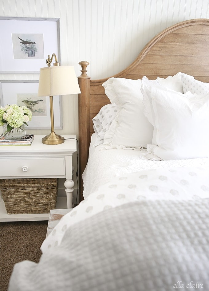 Master Bedroom Reveal | A New Bed - Ella Claire