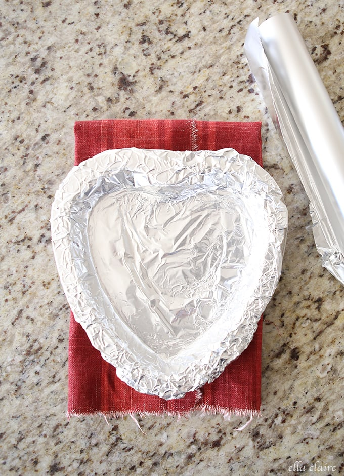 Valentine's Day Candy Heart Platter