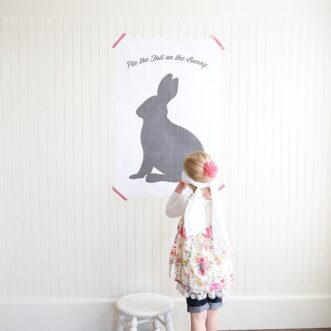 Pin the Tail on the Bunny | Free Easter Printable