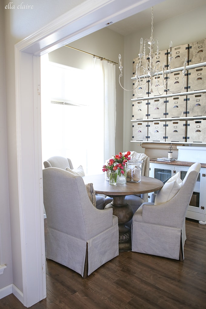 Home Office/Studio Makeover- DIY projects and inspiration galore